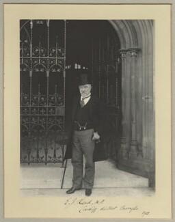 Sir Edward James Reed, by Benjamin Stone - NPG x35018