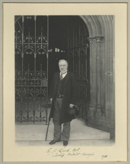 Sir Edward James Reed, by Benjamin Stone - NPG x35019