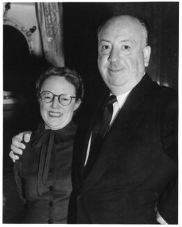 Alma Reville; Alfred Hitchcock, by Planet News, 25 October 1955 - NPG x88147 - © reserved; collection National Portrait Gallery, London