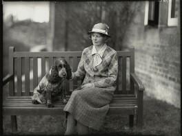 Mrs Jamieson Higgins, by Bassano Ltd - NPG x151060
