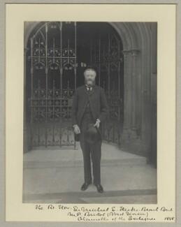 Michael Edward Hicks Beach, 1st Earl St Aldwyn, by Benjamin Stone - NPG x8692
