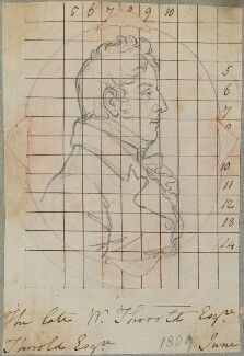 William Thorold, by Henry Bone, after  Peter Rouw, June 1809 (exhibited 1806) - NPG D17620 - © National Portrait Gallery, London