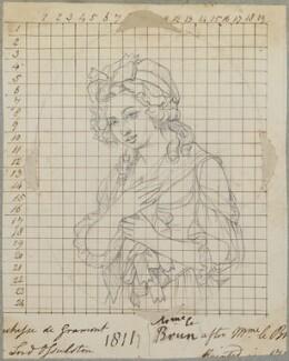 Aglaé Louise Françoise Gabrielle de Polignac, Duchesse de Gramont et Guiche, by Henry Bone, after  Elisabeth-Louise Vigée-Le Brun - NPG D17628