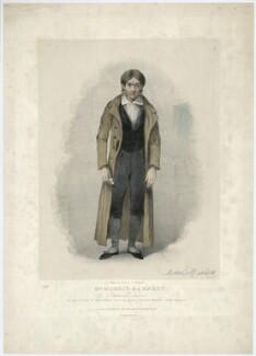 Morris Barnett as Monsieur Jacques, by John Brandard - NPG D23471