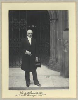 Edward James Saunderson, by Benjamin Stone - NPG x35055