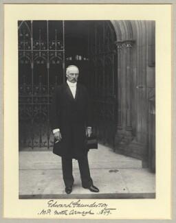 Edward James Saunderson, by Benjamin Stone - NPG x35056