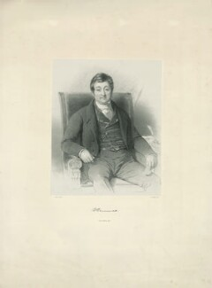 Robert Barnewall, by James Henry Lynch, after  John Hayes, after  Robert Home - NPG D23473