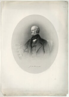 G.H. Barnett, by W. Joseph Edwards, after  Henry Graves - NPG D23474