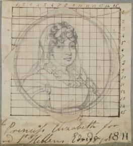 Princess Elizabeth, Landgravine of Hesse-Homburg, by Henry Bone, after  Henry Edridge - NPG D17645