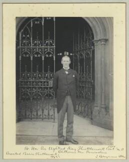 Ughtred James Kay-Shuttleworth, 1st Baron Shuttleworth of Gawthorpe, by Benjamin Stone - NPG x35069