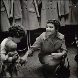 Shirley Bassey; Sharon Bassey, by Bob Collins - NPG x128714
