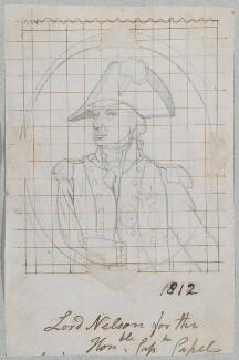 Horatio Nelson, by Henry Bone, after  Arthur William Devis - NPG D17663