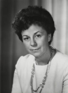 Annie Patricia Llewellyn-Davies, Baroness Llewellyn-Davies of Hastoe, by Godfrey Argent - NPG x166125