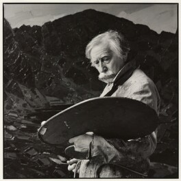 Kyffin Williams, by Nicholas Sinclair - NPG x88163