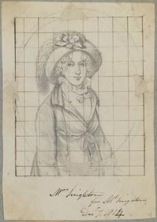Mrs Singleton, by Henry Bone, after  Henry Singleton - NPG D17678