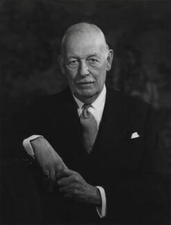 Sir Harold Augustus Wernher, 3rd Bt, by Godfrey Argent - NPG x166136