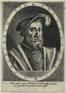 François I (Francis I), King of France, after Unknown artist - NPG D23477