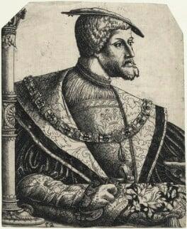 Charles V, Holy Roman Emperor, by Christoffel Bockstorfer, 1540s-1550s - NPG D23479 - © National Portrait Gallery, London