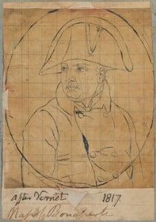 Napoléon Bonaparte, by Henry Bone, after  (Emile Jean) Horace Vernet - NPG D17692