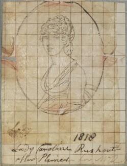 Lady Caroline Rushout, by Henry Bone, after  Andrew Plimer - NPG D17705