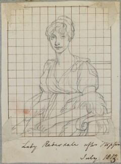 Frances Freeman-Mitford (née Perceval), Lady Redesdale, by Henry Bone, after  John Hoppner - NPG D17710