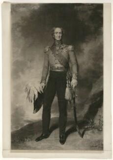 Sir Edward Barnes, after John Wood - NPG D23482