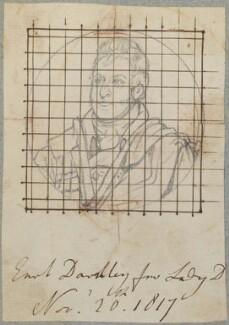 John Bligh, 4th Earl of Darnley, by Henry Bone, after  Thomas Phillips, 20 November 1817 (exhibited 1810) - NPG D17728 - © National Portrait Gallery, London
