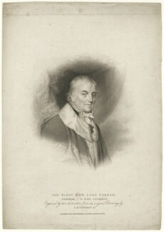 Charles Middleton, 1st Baron Barham, by Marie Anne Bourlier, published by  T. Cadell & W. Davies, after  John Downman - NPG D23488