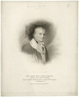Charles Middleton, 1st Baron Barham, by Marie Anne Bourlier, published by  T. Cadell & W. Davies, after  John Downman - NPG D23489