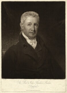 John Theodore Barker, by John Young, after  John Renton - NPG D23490