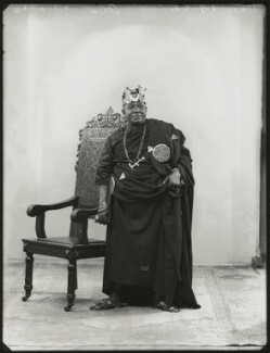 Nana Sir Ofori Atta, by Bassano Ltd, 22 June 1934 - NPG x151139 - © National Portrait Gallery, London