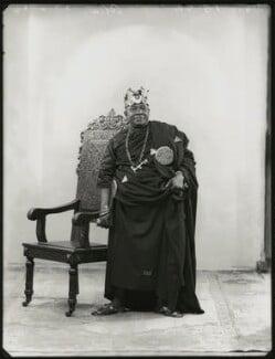 Nana Sir Ofori Atta, by Bassano Ltd, 22 June 1934 - NPG x151139 - © National Portrait Gallery, London