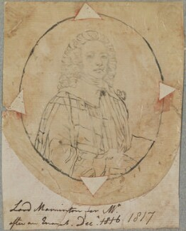 Richard Colley Wesley (Wellesley), 1st Baron Mornington, by Henry Pierce Bone, after  Unknown artist - NPG D17733