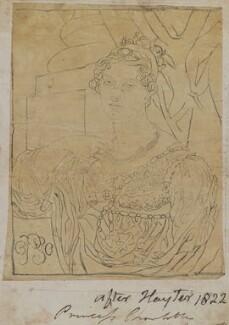 Princess Charlotte Augusta of Wales, by Henry Bone, after  Sir George Hayter - NPG D17734