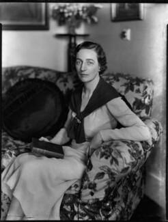 Lucy Marguerite (née Montgomery), Lady Thomas, by Bassano Ltd, 29 June 1934 - NPG x151141 - © National Portrait Gallery, London