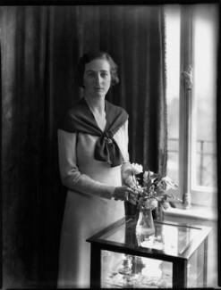 Lucy Marguerite (née Montgomery), Lady Thomas, by Bassano Ltd, 29 June 1934 - NPG x151142 - © National Portrait Gallery, London