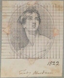 Catherine Elizabeth Gordon (née Hamilton), Countess of Aberdeen, by Henry Bone, after  Sir Thomas Lawrence, 1822 (circa 1805-1810) - NPG D17736 - © National Portrait Gallery, London