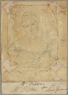 Mrs Paddon, by Henry Bone, probably after  Sir William John Newton - NPG D17739