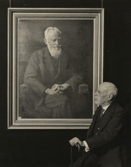 John Collier, by London News Agency - NPG x12401