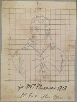 Charles James Fox, by Henry Bone, after  John Opie - NPG D17740