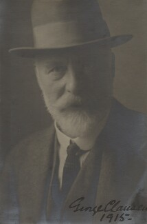 Sir George Clausen, by Unknown photographer - NPG x6086