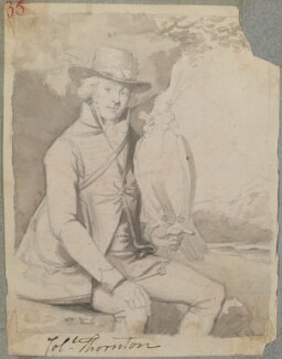 Thomas Thornton, by Henry Bone, after  Ramsay Richard Reinagle - NPG D17765