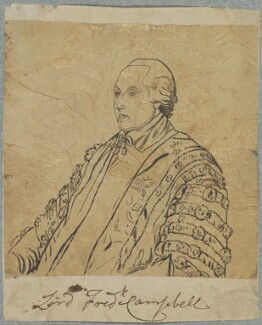Lord Frederick Campbell, by Henry Bone, after  Thomas Gainsborough - NPG D17782