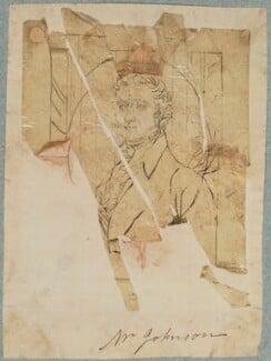 Mr Johnson, by Henry Bone, after  Unknown artist - NPG D17784