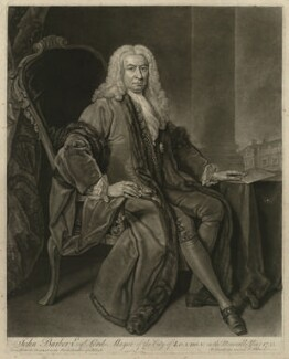 John Barber, by John Faber Jr, after  Bartholomew Dandridge - NPG D23504