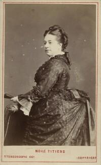 (Johanna) Therese Carolina Tietjens (Titiens), by London Stereoscopic & Photographic Company - NPG x13229
