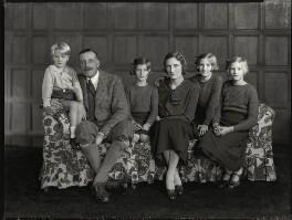 The Monckton-Arundell family, by Bassano Ltd - NPG x151184
