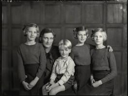 The Monckton-Arundell family, by Bassano Ltd - NPG x151185