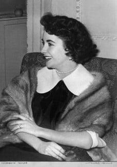 Dame Elizabeth Taylor, by Charles Adams - NPG x88180