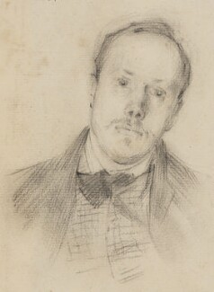 Philip Wilson Steer, by Edward Stott, 1890s - NPG 6806 - © National Portrait Gallery, London